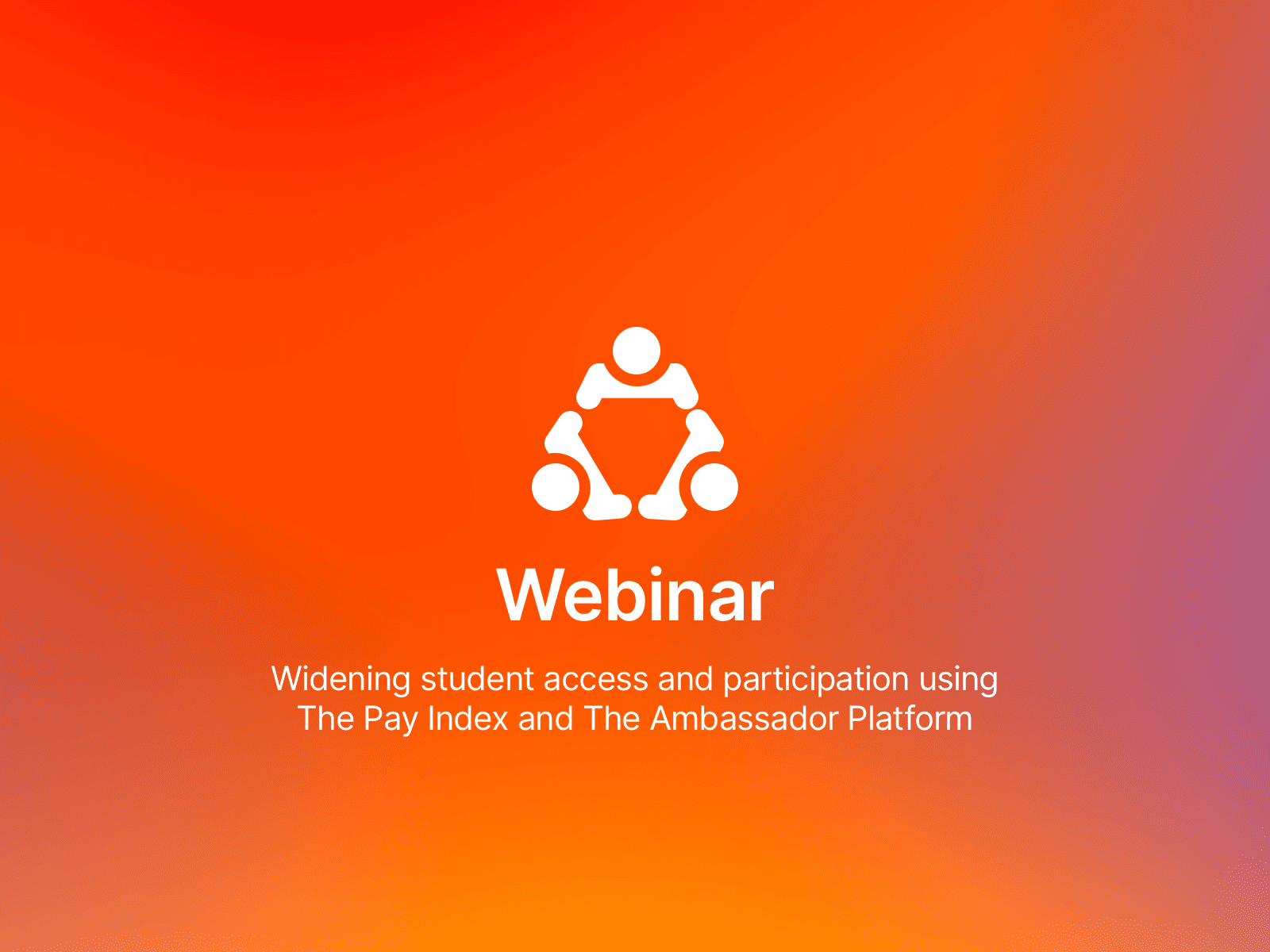 TAP webinar: Widening student access and participation
