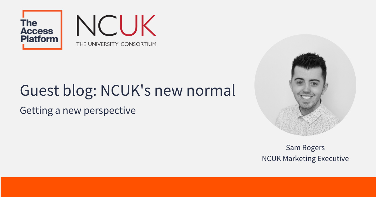 Guest blog: NCUK's new normal – getting a new perspective