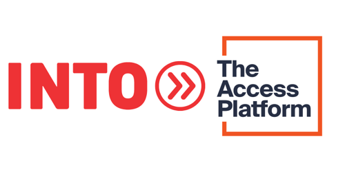 Logos of INTO and The Access Platform