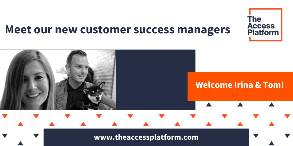Say hello to our two new customer success managers!