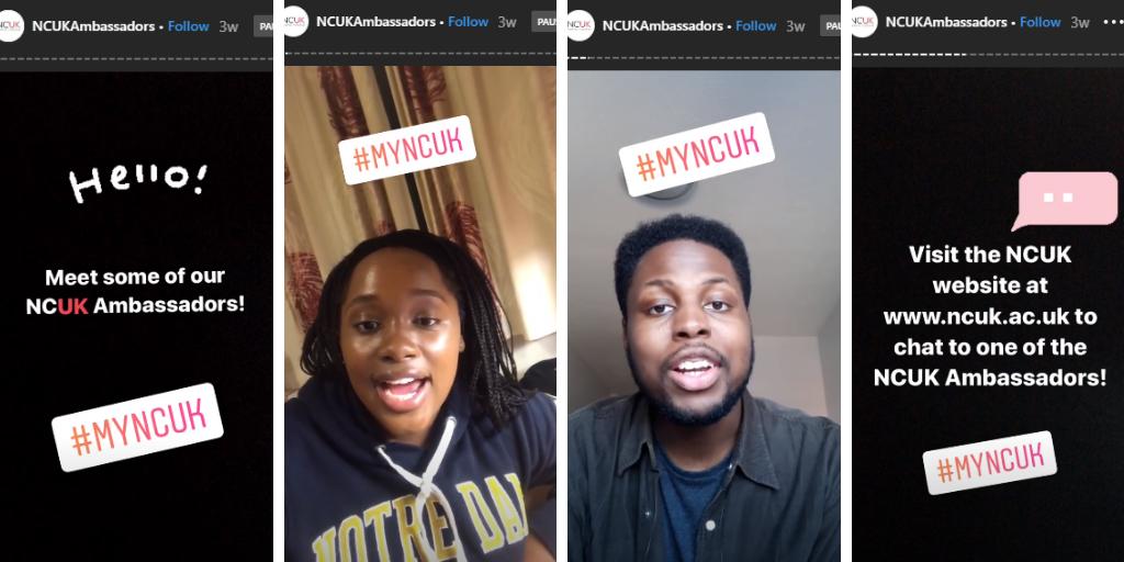NCUK Instagram